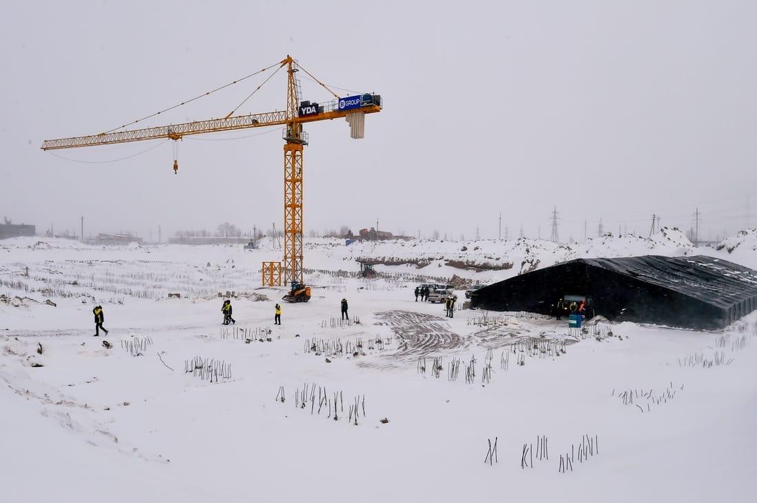 Как идёт строительство многопрофильной больницы в Петропавловске