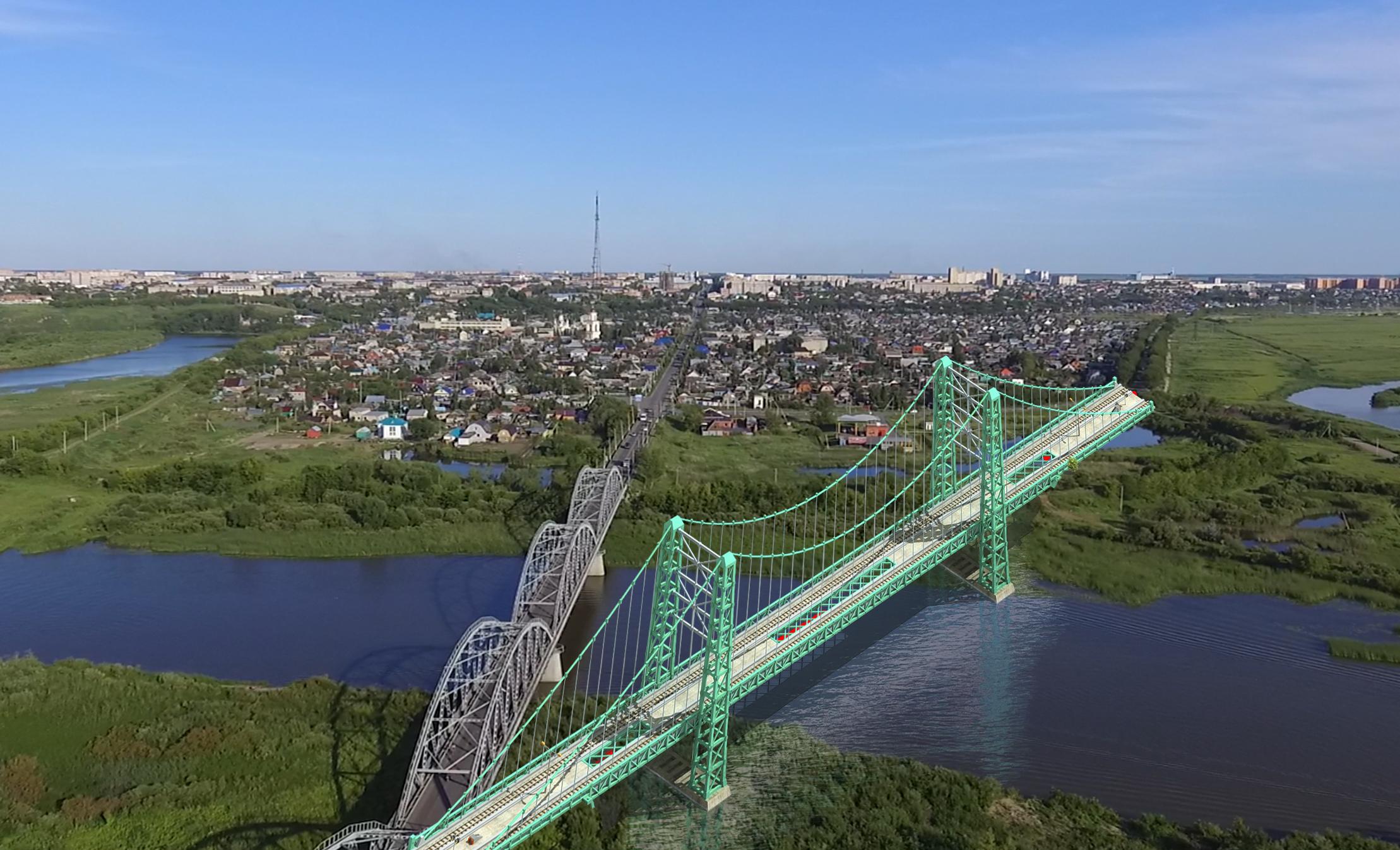 В Петропавловске планируют построить 4 новых моста через Ишим