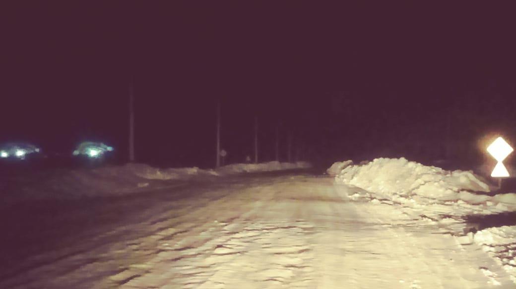 В селе на севере Казахстана не включают новые фонари