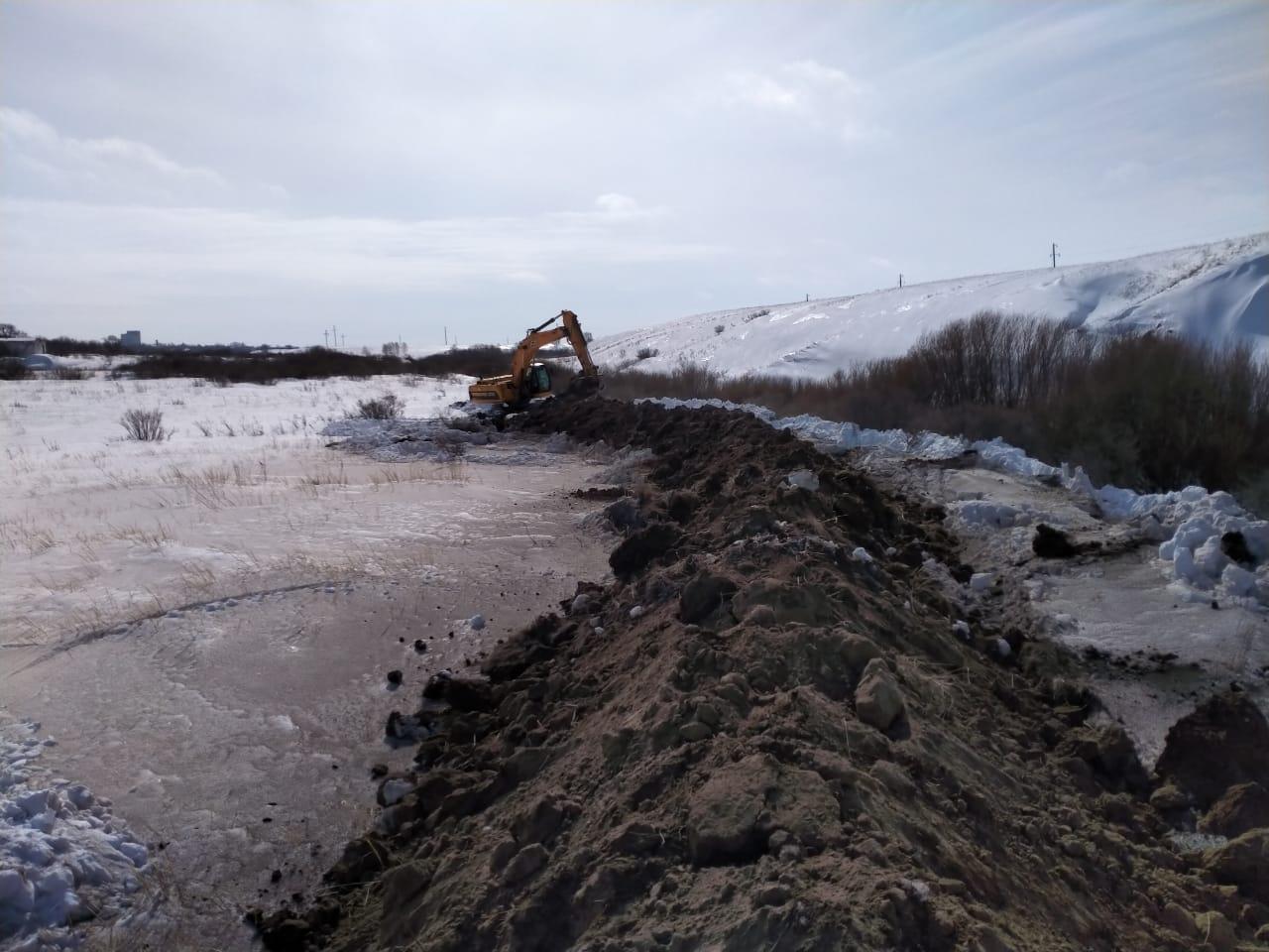 На водоёмах Северо-Казахстанской области взрывают лёд