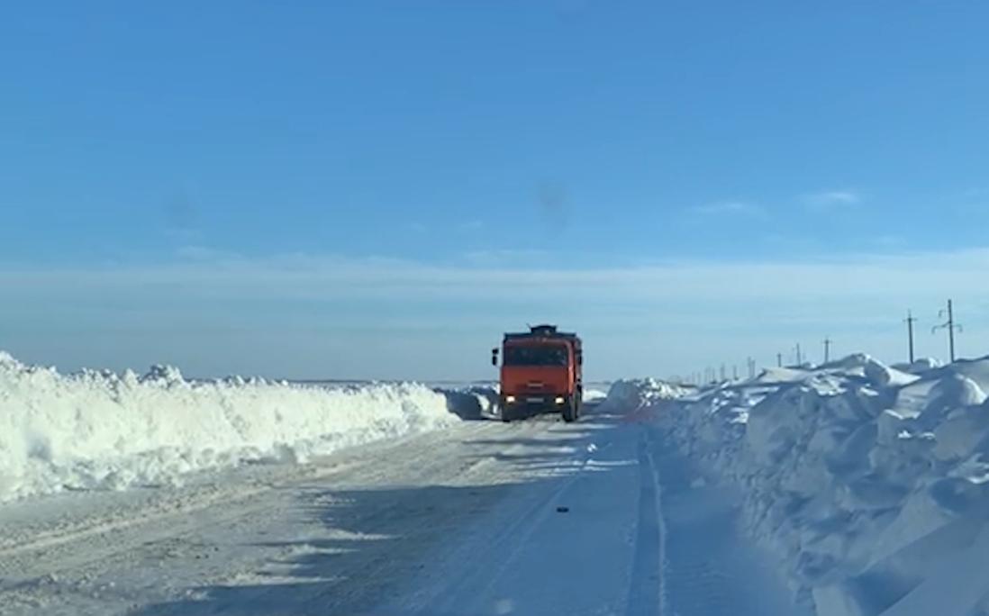 Приезжайте в Северный Казахстан. Если сможете проехать сквозь снег