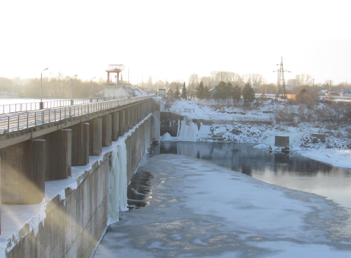 На севере Казахстана до перелива Сергеевского водохранилища осталось 95 сантиметров