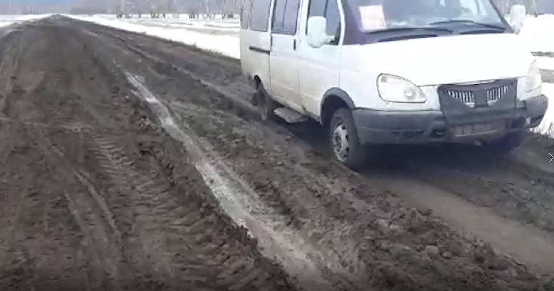 Полоса препятствий: как дойти до сельской школы на севере Казахстана