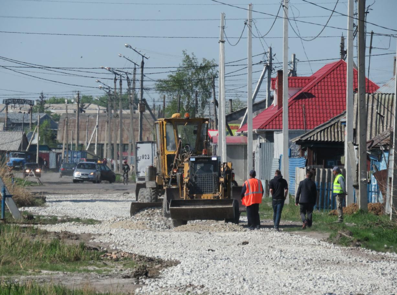 В Петропавловске подрядчики переделывают ранее отремонтированные дороги