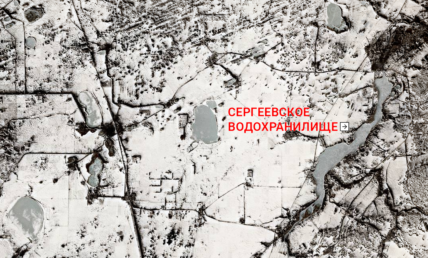 Спутник показал таяние снегов на севере Казахстана