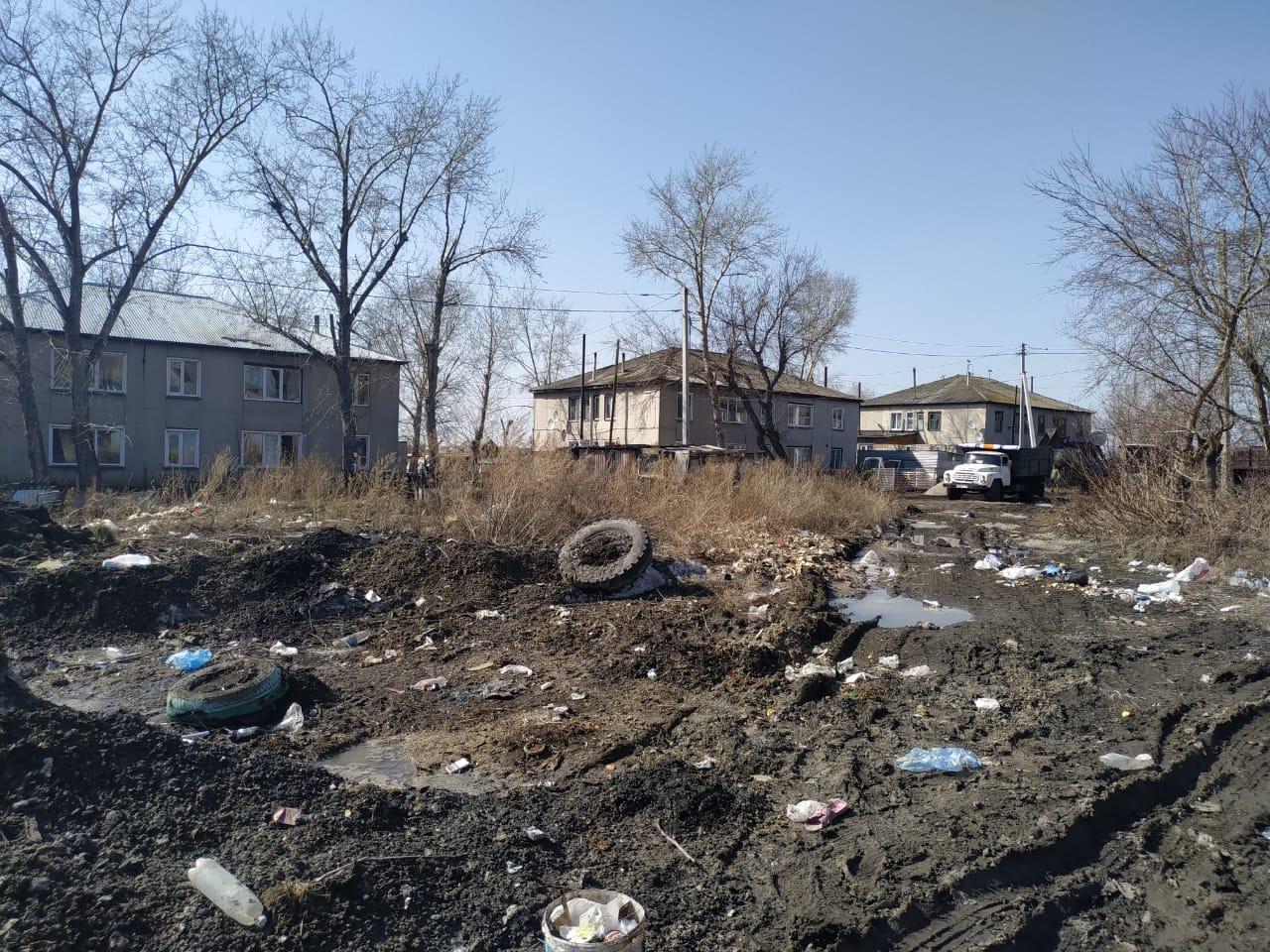 В Петропавловске целый микрорайон рискует превратиться в свалку