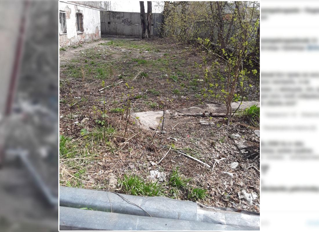 Участковый заставил жителей дома в Петропавловске очистить двор