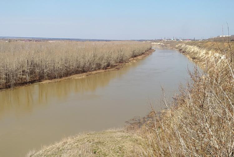 Сравнение паводка-2017/2021 в Петропавловске