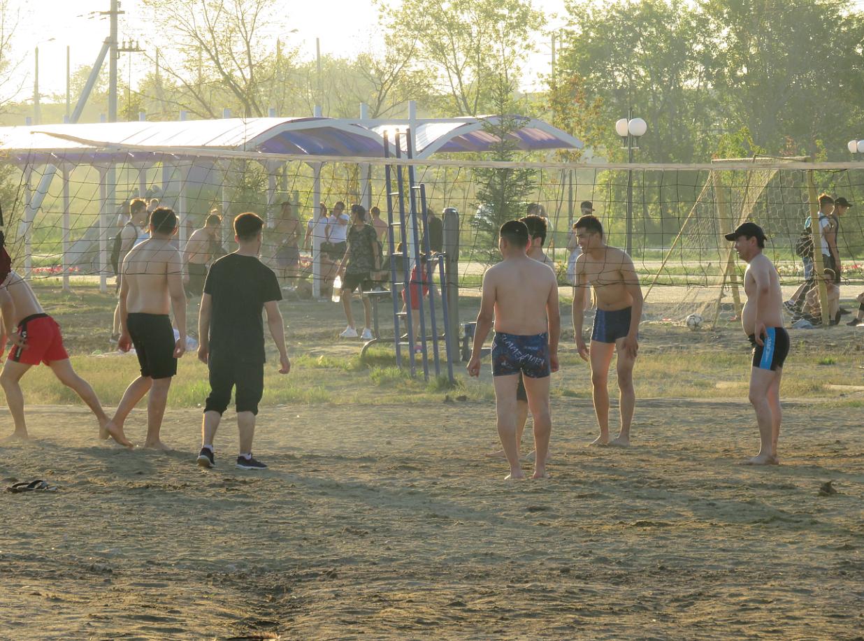 Пляжи Петропавловска готовят к лету: на берегу Ишима появится медпункт
