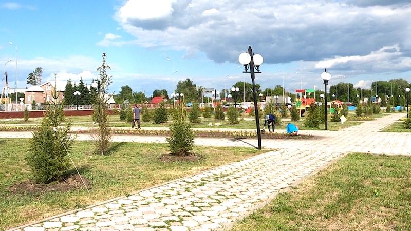 Пляж на озере Пёстрое в Петропавловске: одно построили, другое разрушили