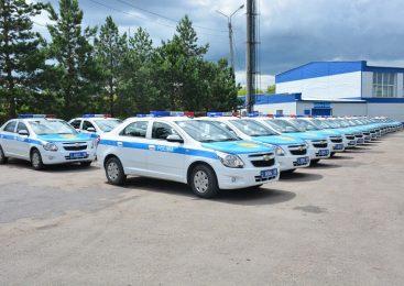 Полиция Северо-Казахстанской области получила 86 новых Chevrolet Cobalt