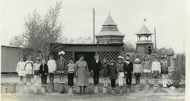 Детский сад на севере Казахстана, которого больше нет