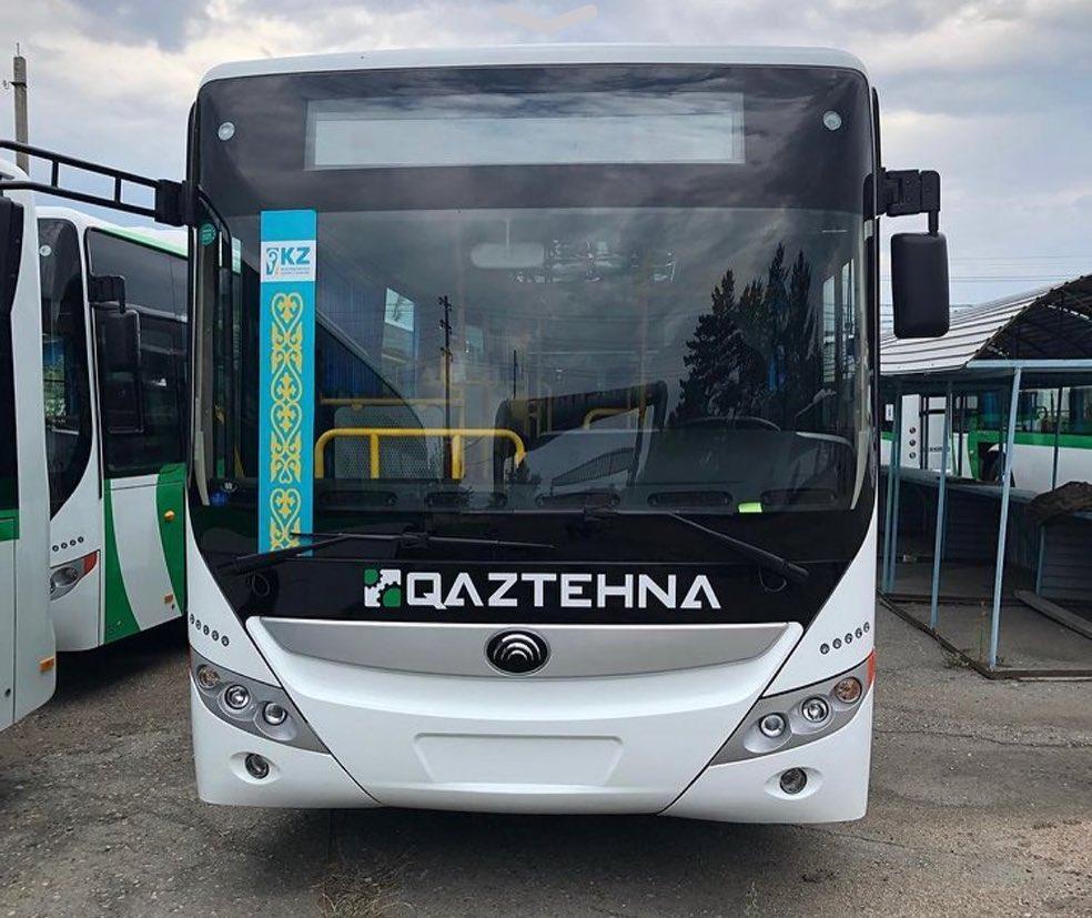 Акимат Петропавловска показал новые автобусы