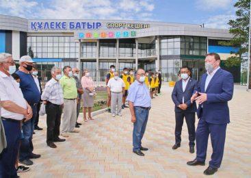 Кумар Аксакалов открыл новый спортцентр на севере Казахстана в день старта Олимпиады в Токио