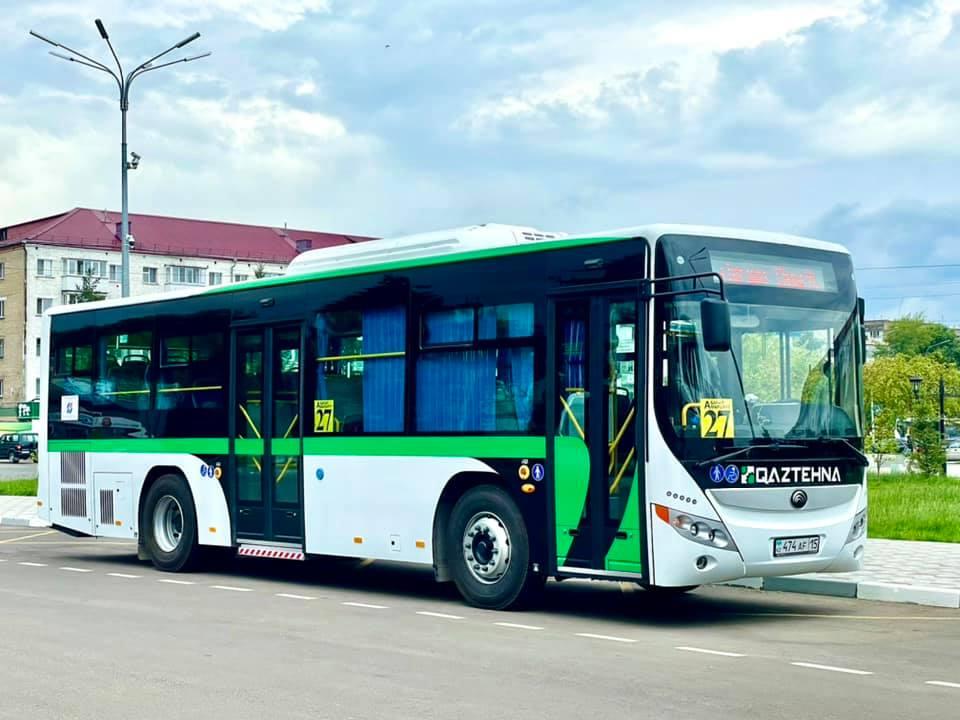 Акимат Петропавловска заявил о выходе на маршруты новых автобусов
