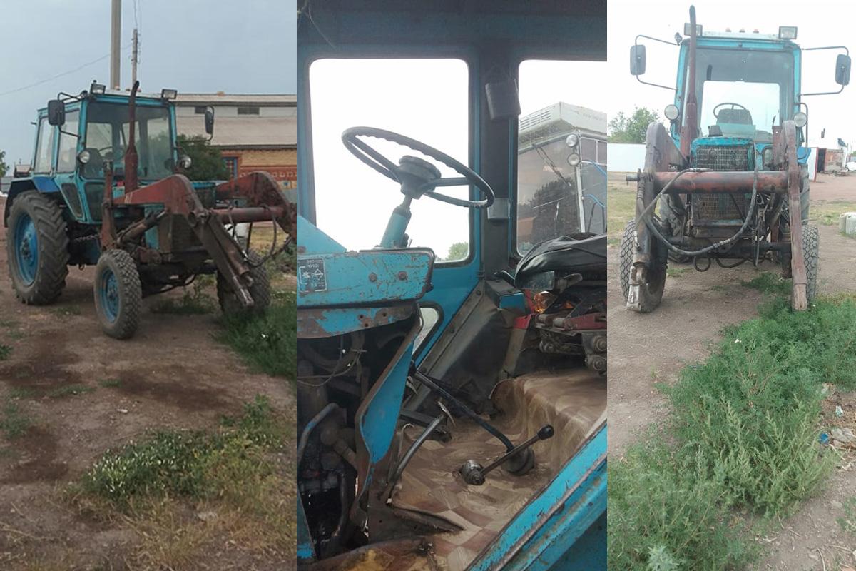 На севере Казахстана мужчина угнал трактор