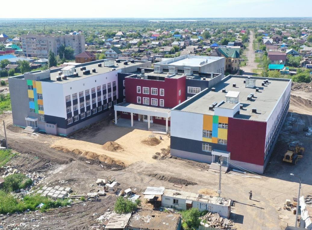Ход строительствановыхобъектов показали в Петропавловске