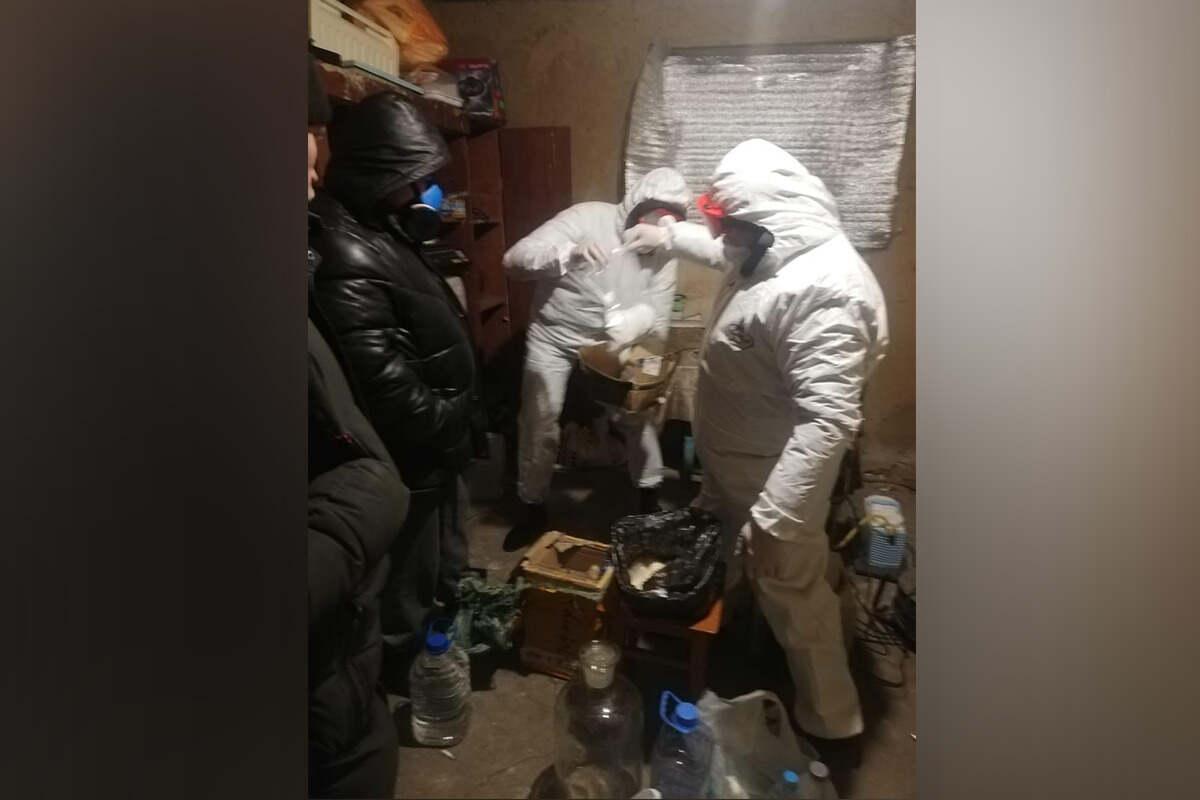 На севере Казахстана ликвидировали 4 нарколаборатории