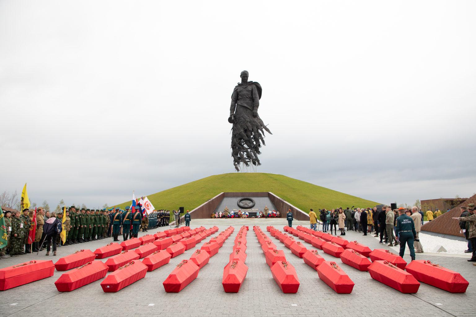 Памятник во Ржеве. Новый