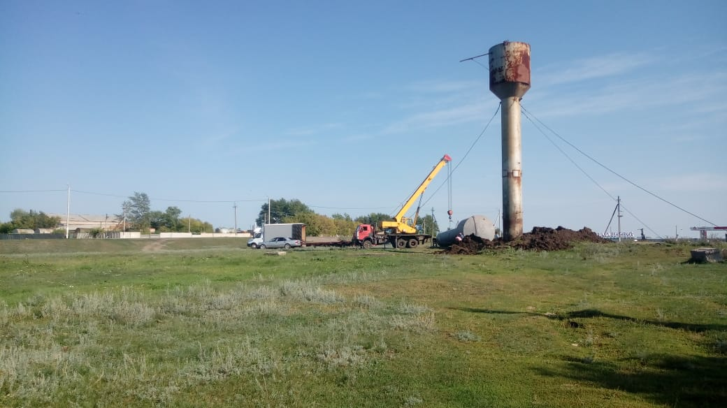 Как установка водонапорной башни стала большим достижением в селе на севере Казахстана